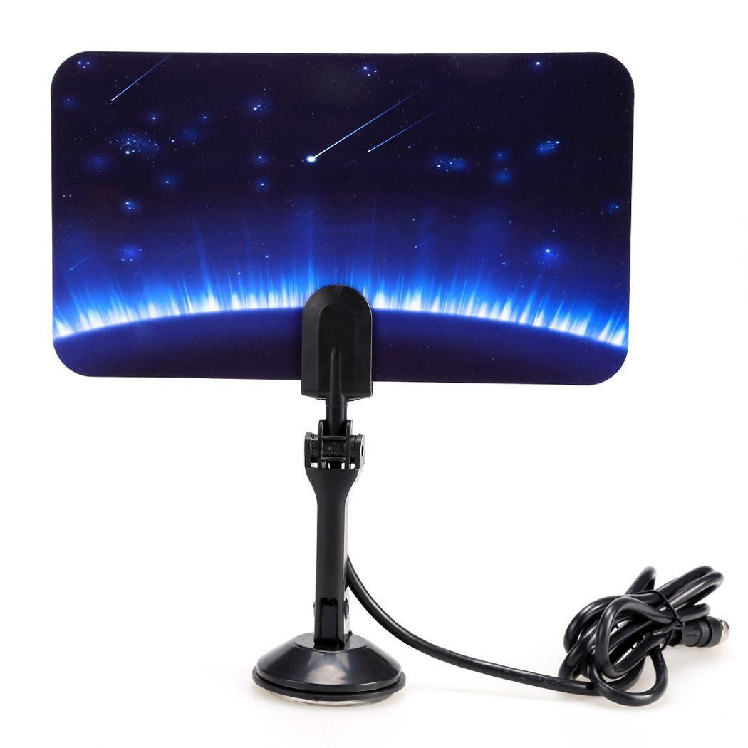 shooting star pattern digital indoor tv antenna 1080p. Black Bedroom Furniture Sets. Home Design Ideas