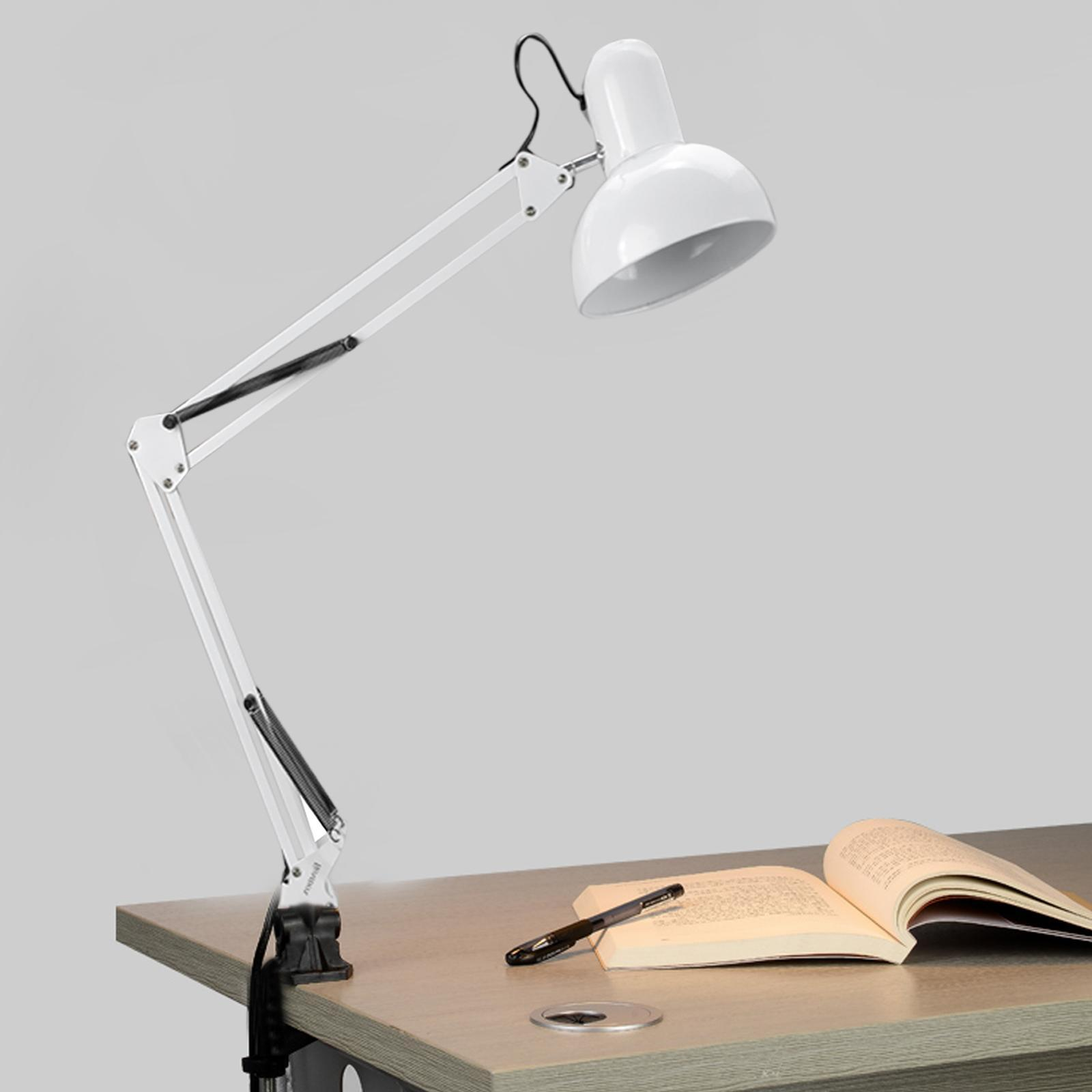 Arm Homdox Drafting Office Studio Clamp Table Lamp Light Fold EBay .