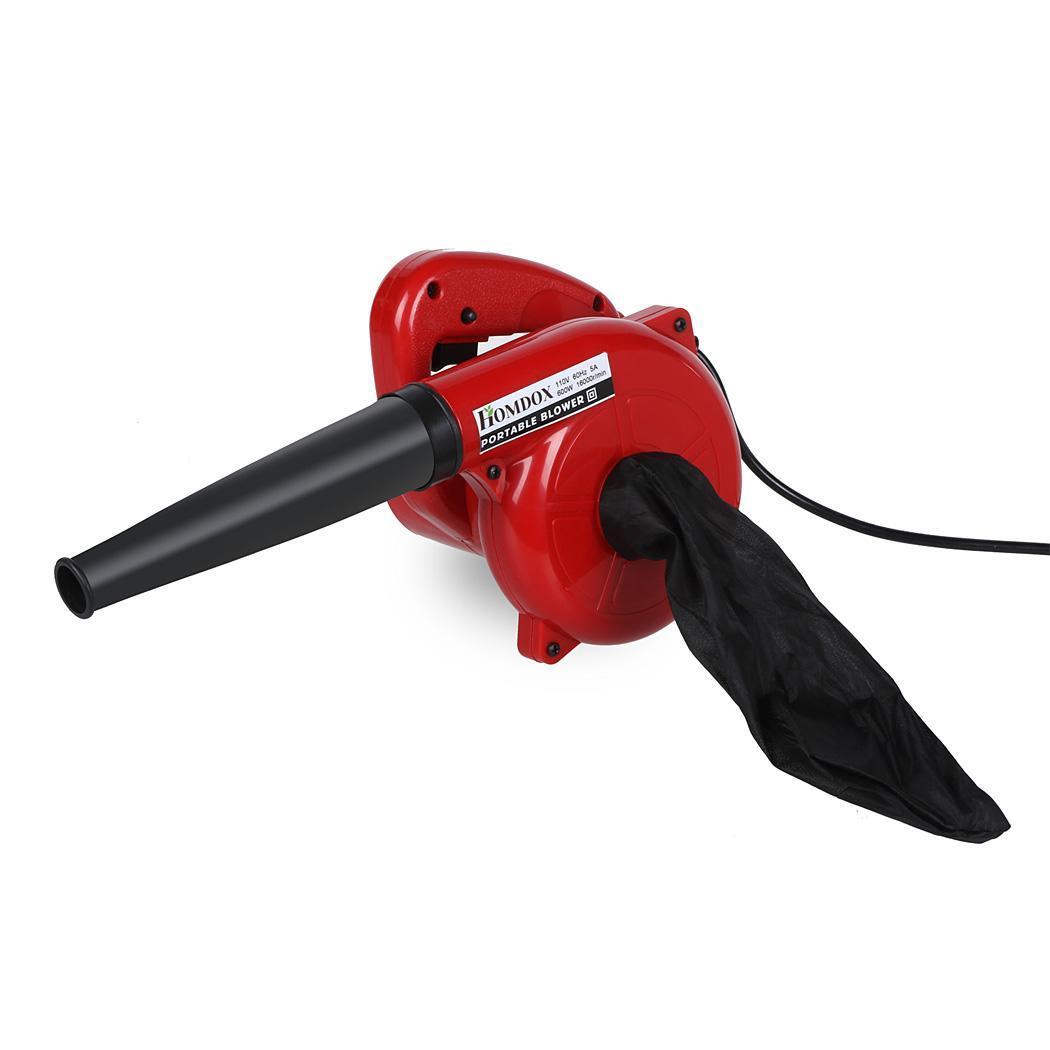 600w watt electric hand held blower vacuum garden blow for Electric hand garden shears